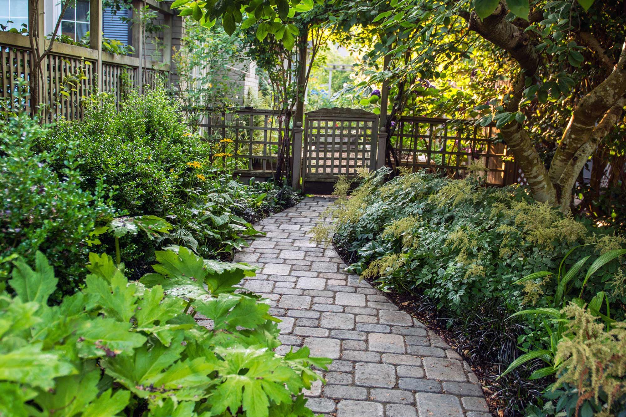 Roman Domion paver walkway