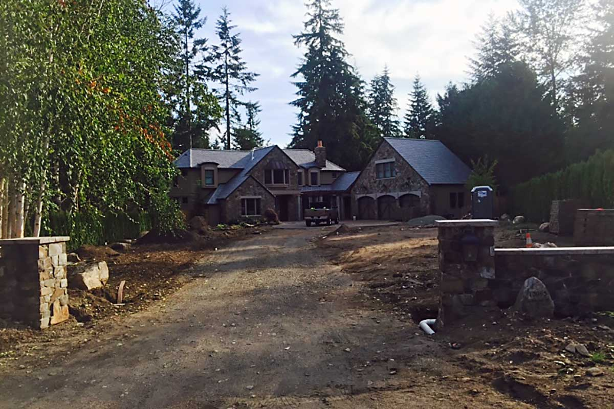 Woodinville driveway removal
